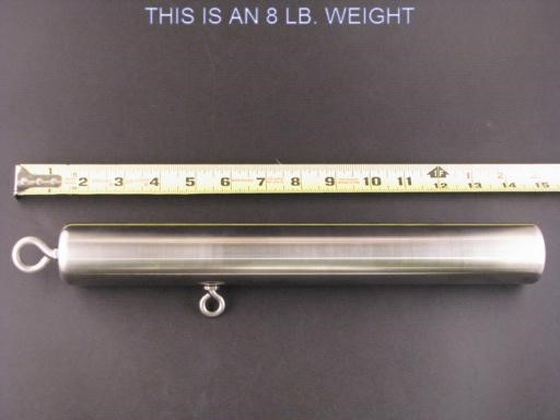Stainless Steel Downrigger Stick Weight